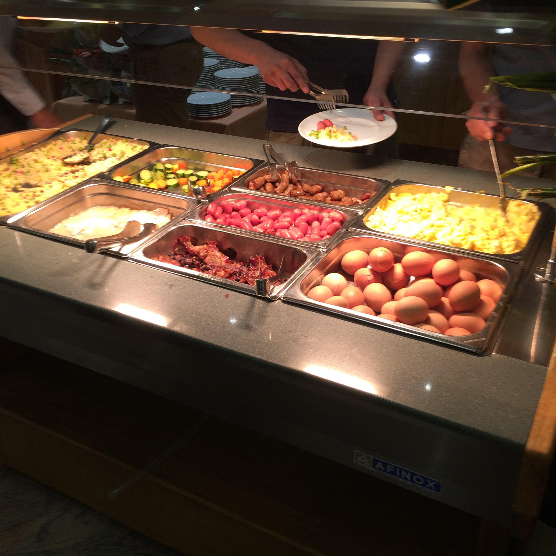 ホテルミケランジェロの朝食