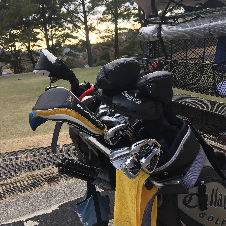 ゴルフ納め