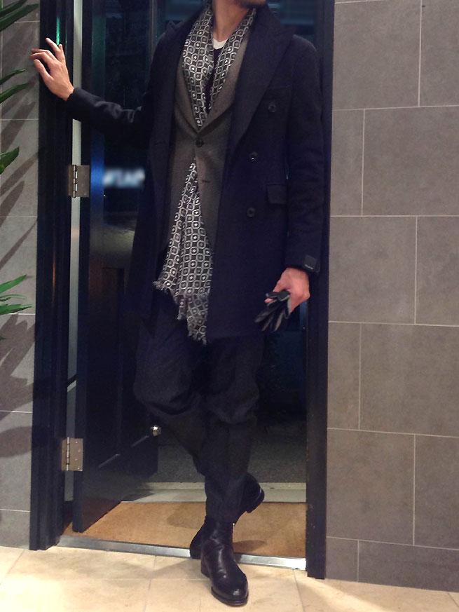 ~カシミアをアーバンシックに着てみませんか?~TAGLIATORE【タリアトーレ】