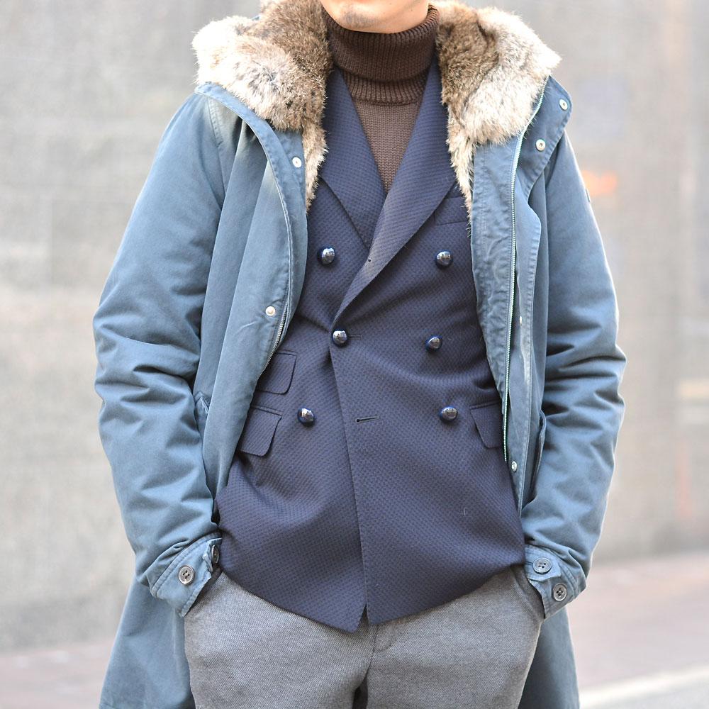 ~モッズコートはジャケットスタイルでも楽しめる~LEMPELIUS【レンペリウス】