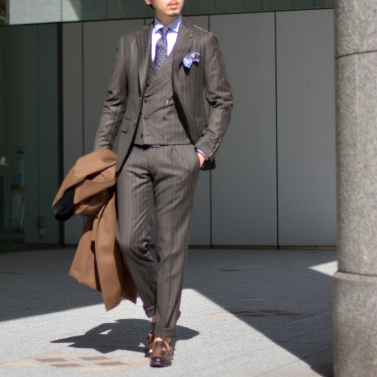 ~男ならスーツに拘りとダンディズムを!!~Gabriele Pasini【ガブリエレ パジーニ】