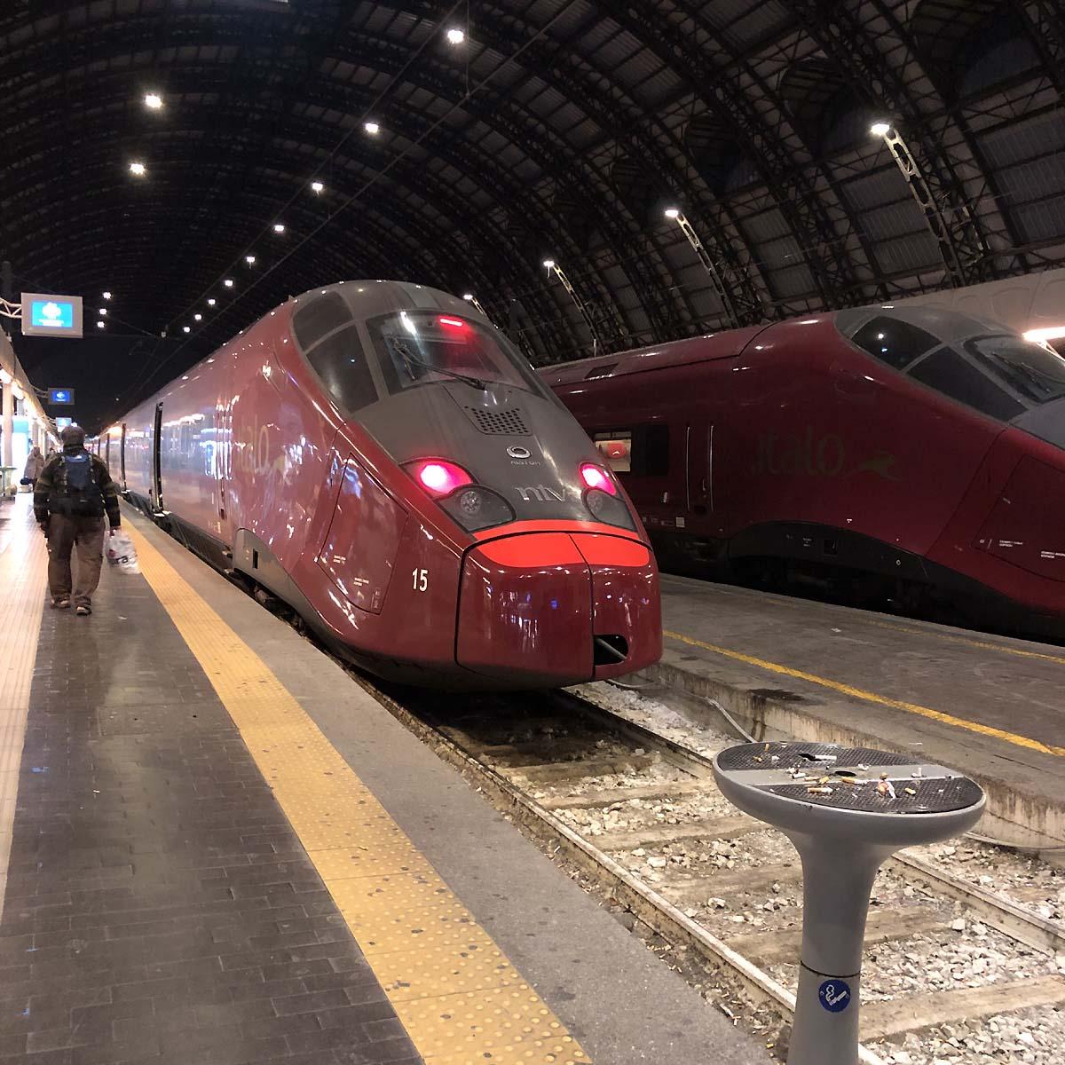 ミラノ到着