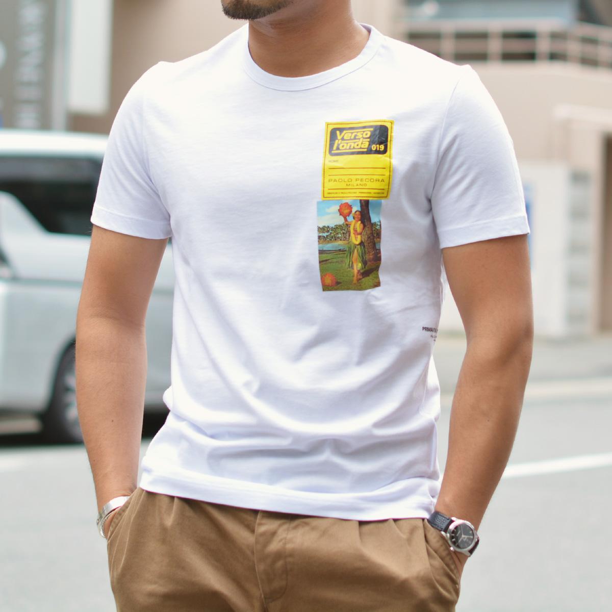 ~夏に向けてお洒落Tシャツ!!~PAOLO PECORA【パオロペコラ】