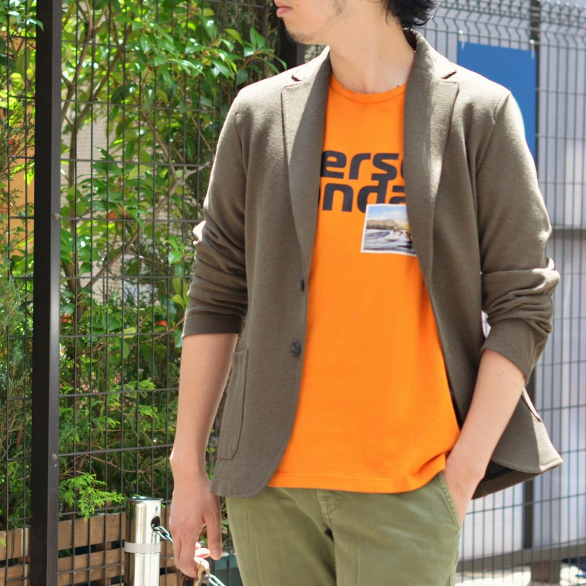 ~夏の大人のオレンジカラー!!~PAOLO PECORA【パオロペコラ】