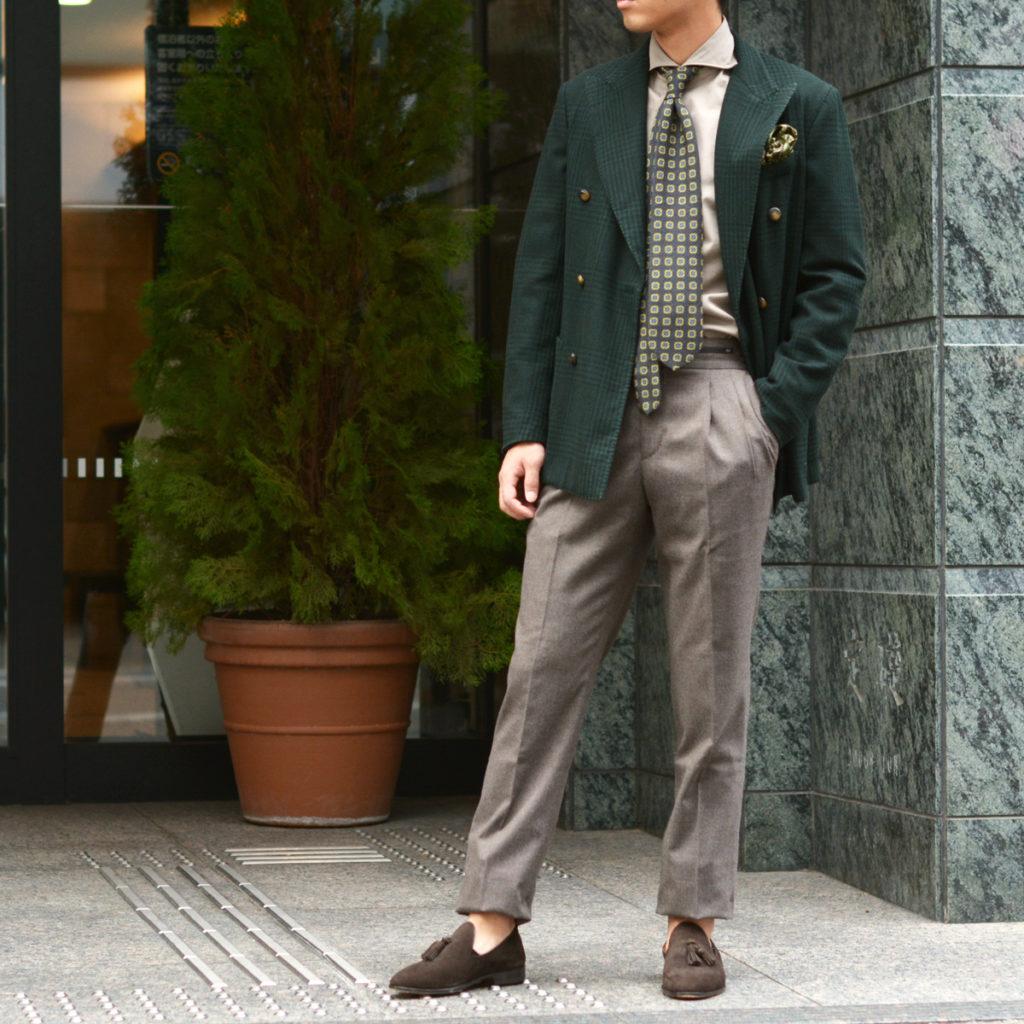 ~アースカラーで纏めた品のあるジャケットスタイル~THE GIGI【ザ ジジ】