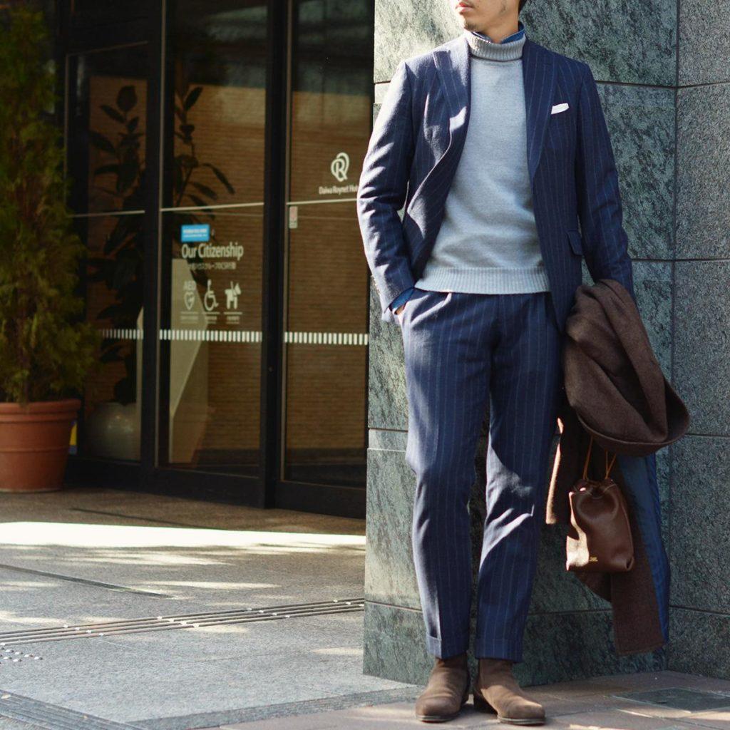 ~こなれた大人はスーツを普段使いで楽しむ!!~Gabriele Pasini【ガブリエレ パジーニ】