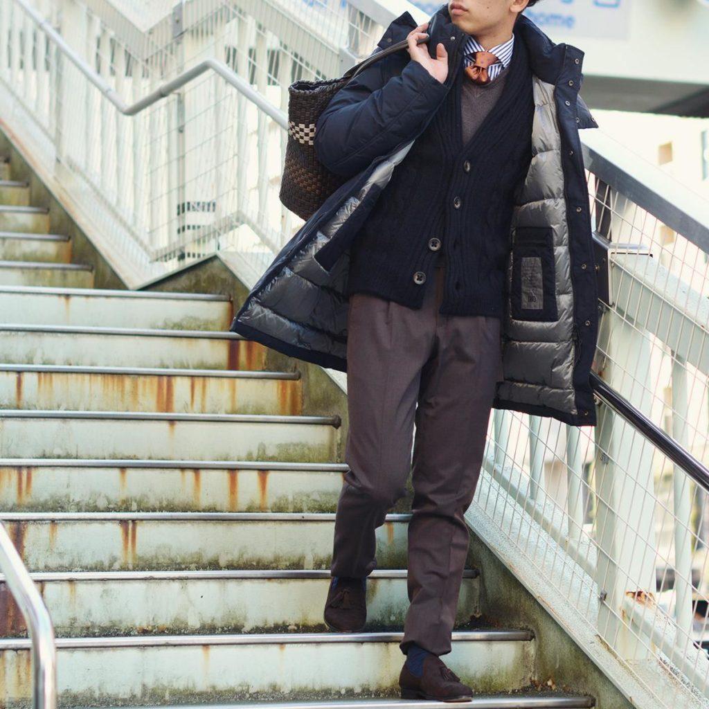 ~冬の必須アウターでビジネスコーディネート~DUNO【デュノ】