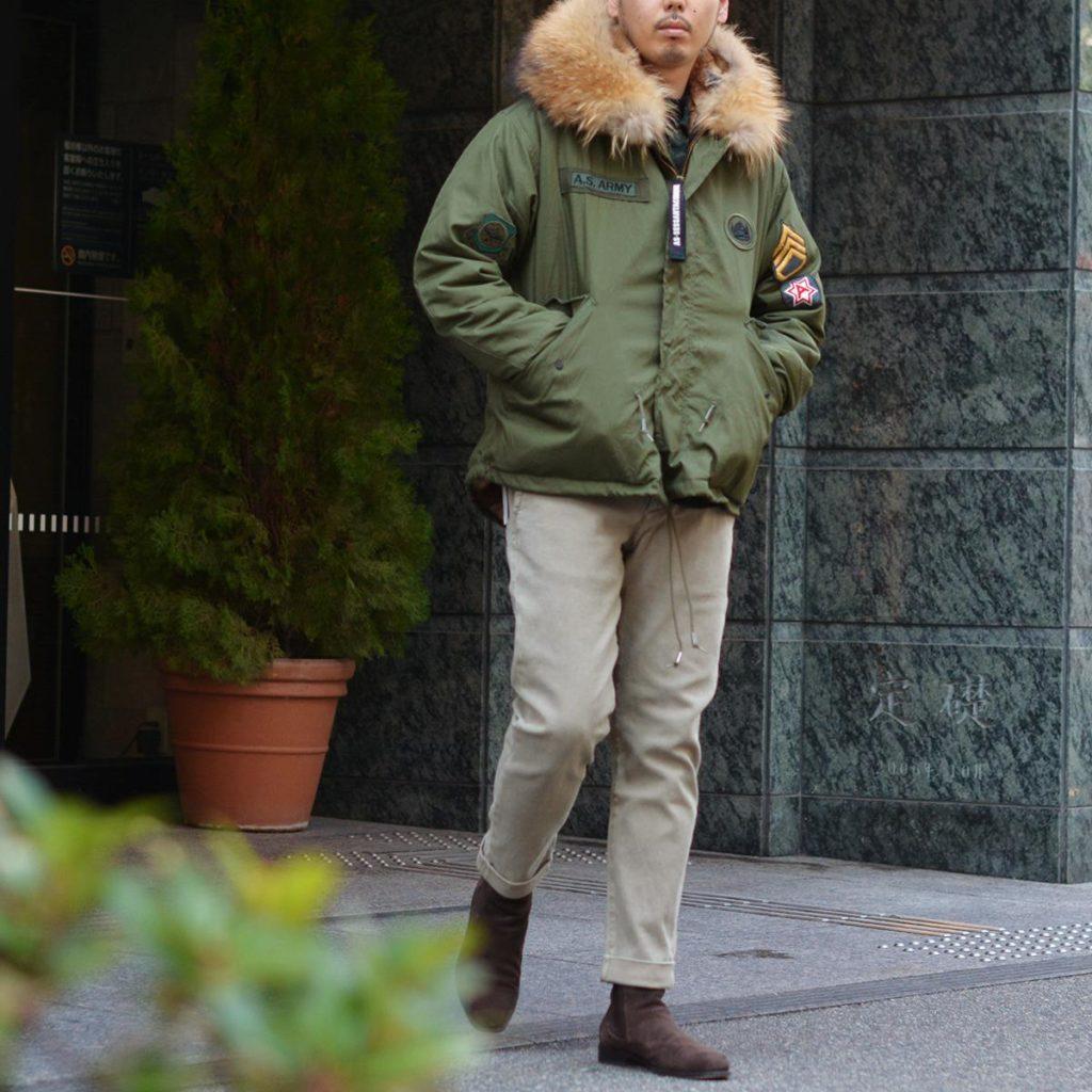 冬の男はミリタリーに染まる!!AS65【アエセッサンタチンクエ】