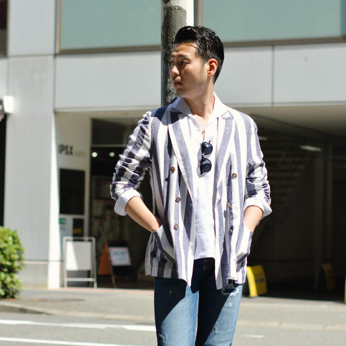 ~軽やかなシャツジャケットで爽やかな清涼感を!!~Bagutta【バグッタ】