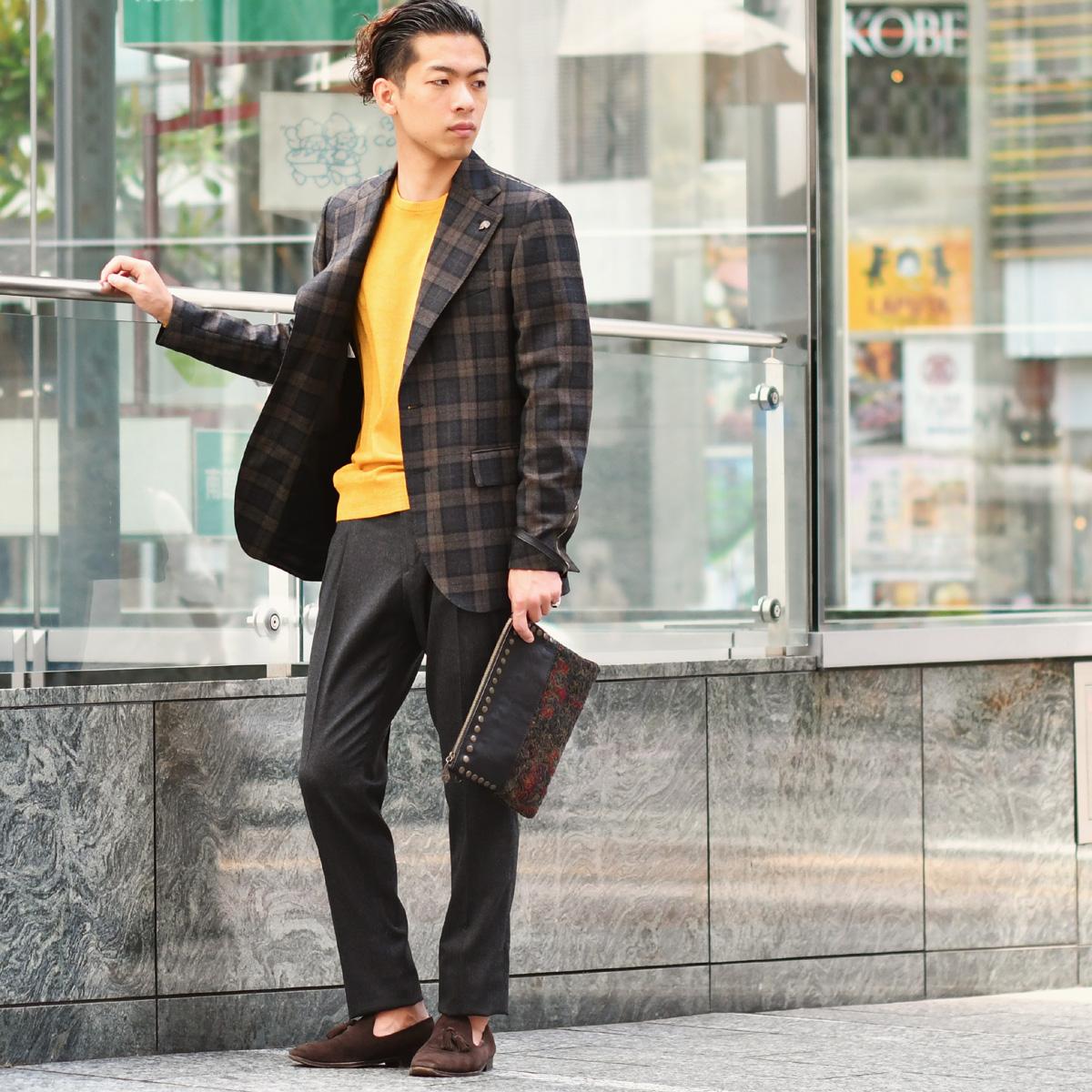 ~イエローを差すジャケットスタイル!~Gabriele Pasini【ガブリエレ パジーニ】