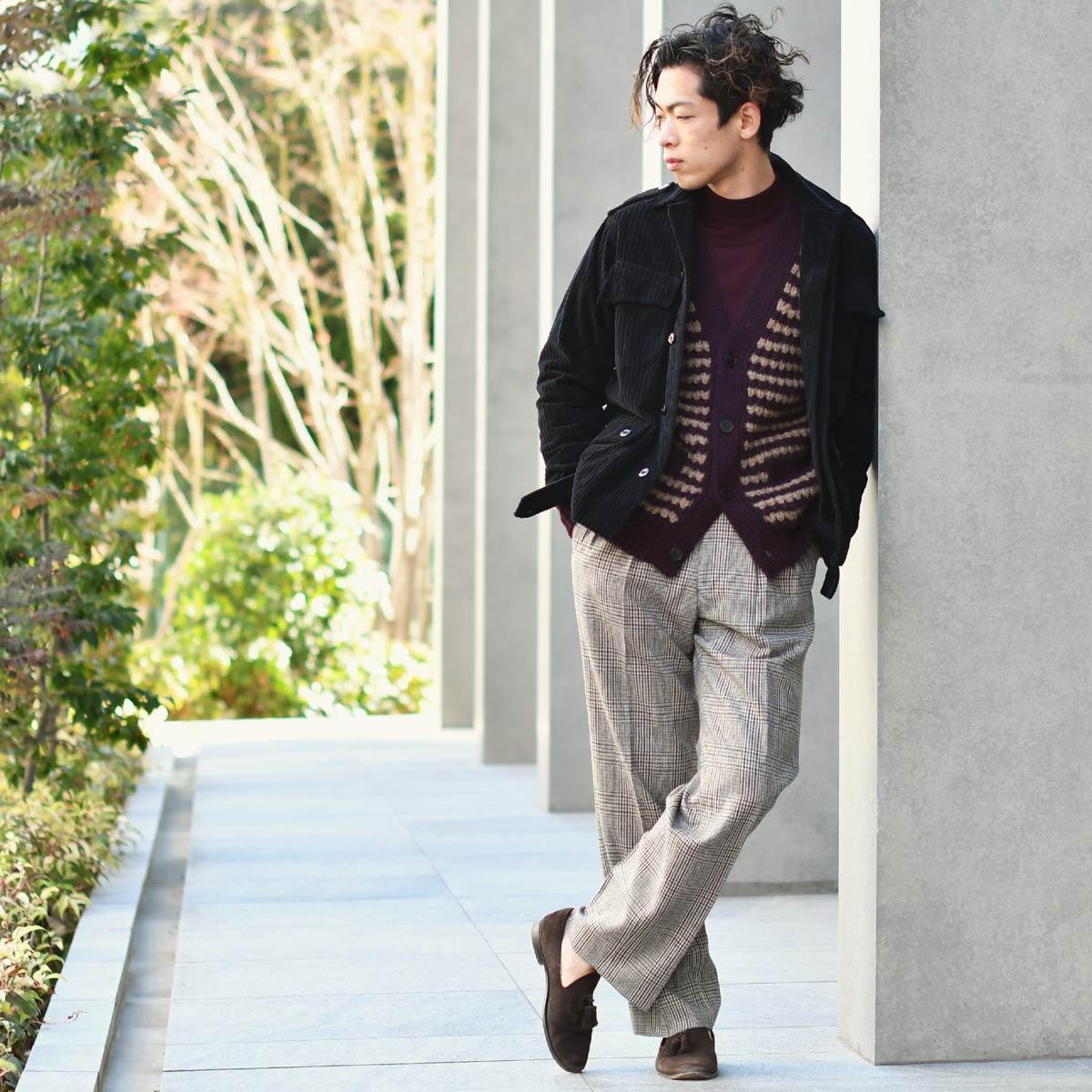 ~冬のお洒落なレイヤードスタイル~roberto collina【ロベルトコリーナ】
